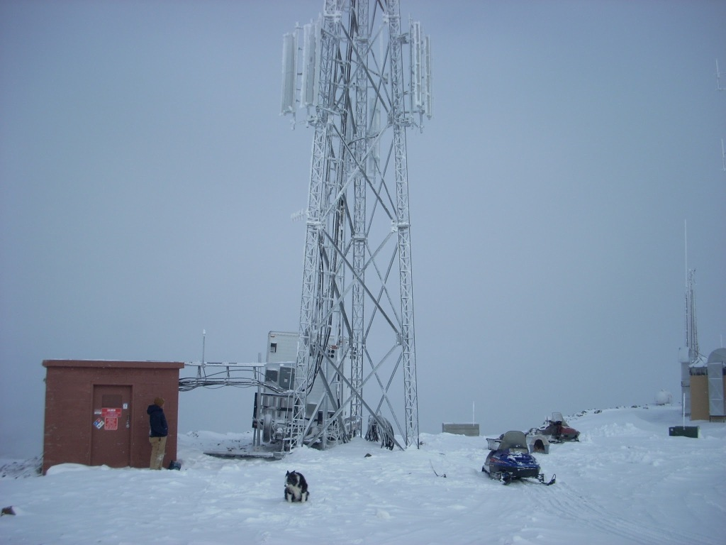 A Gogo ground network tower site.