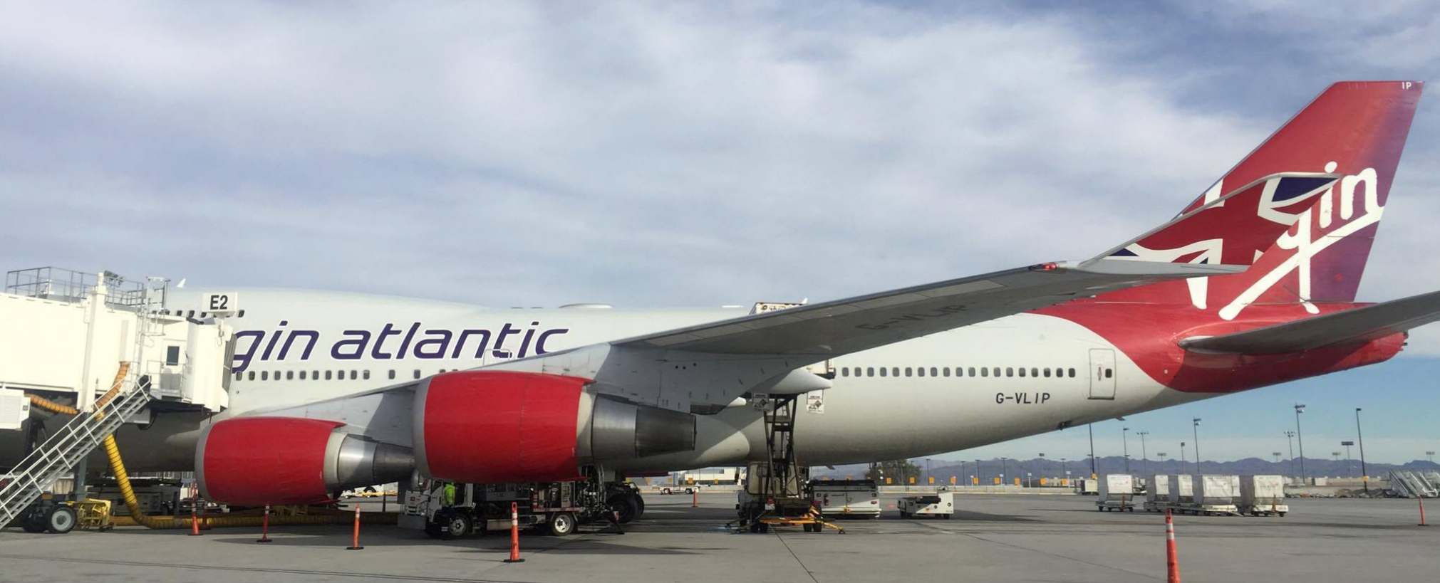 Wifi is now available on every Virgin Atlantic plane to