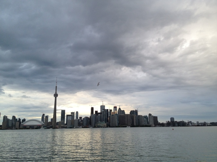 the Toronto Skyline - photo credit Cailin O'Neil